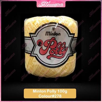 Minlon Polly Yarn 100g #278 / Benang Kait