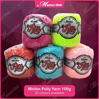Minlon Polly Yarn 100g #286 / Benang Kait