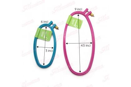 SKC Plastic Oval Ram / Ram Plastik Bujur