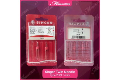 Genuine Singer Twin Needles 11/80 2024 & 2025